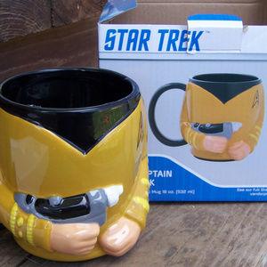 Star Trek Captain Kirk Mug Oversized Mug